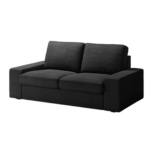 kivik 2er sofa sivik dunkelgrau ikea. Black Bedroom Furniture Sets. Home Design Ideas