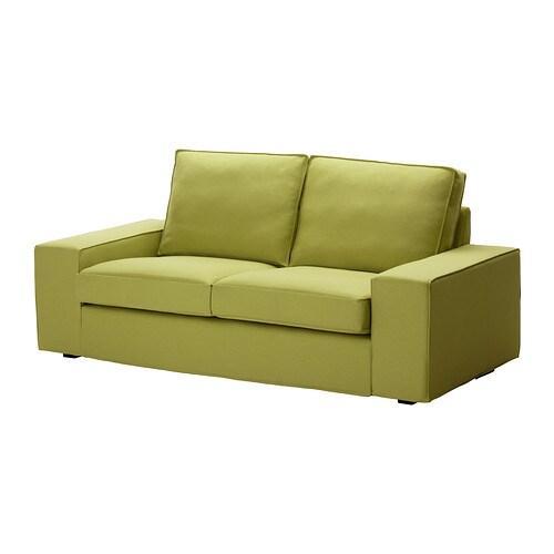kivik 2er sofa dansbo gelbgr n ikea. Black Bedroom Furniture Sets. Home Design Ideas