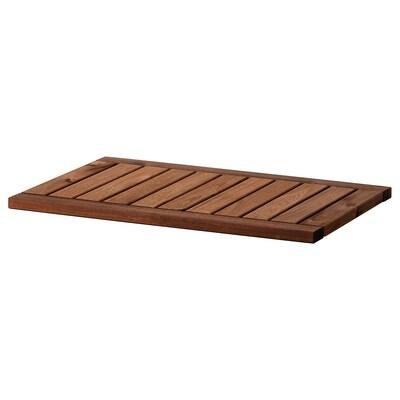 KLASEN Deckplatte braun las. 70 cm 50 cm 2.5 cm