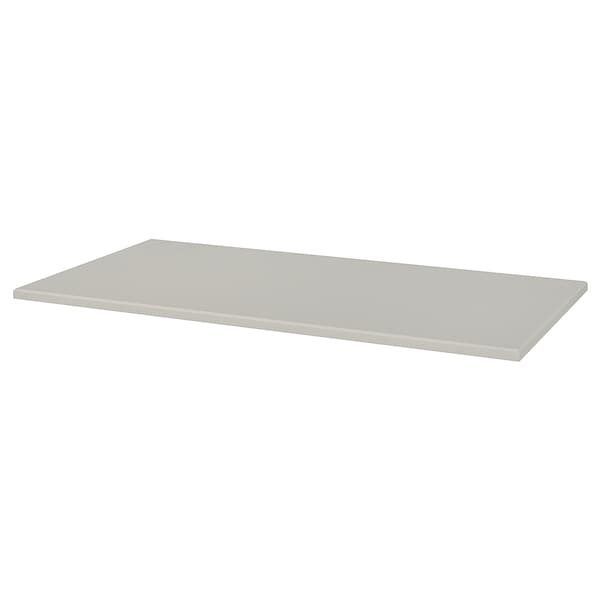 KLIMPEN Tischplatte hellgrau 150 cm 75 cm 2.8 cm 50 kg