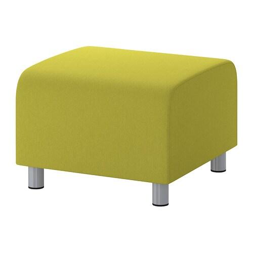 klippan hocker dansbo gelbgr n ikea. Black Bedroom Furniture Sets. Home Design Ideas