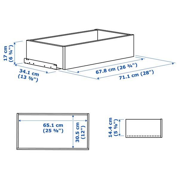 KOMPLEMENT Schublade, weiß, 75x35 cm