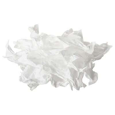KRUSNING Hängeleuchtenschirm, weiß, 43 cm