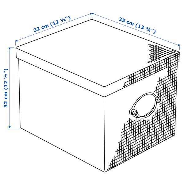 IKEA KVARNVIK Kasten mit deckel