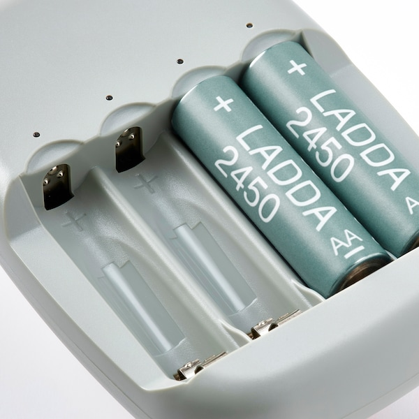 LADDA Akku, aufladbar, HR06 AA 1,2 V, 2450mAh