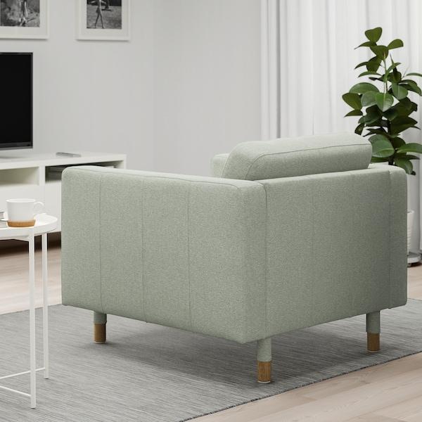LANDSKRONA Sessel, Gunnared hellgrün/Holz