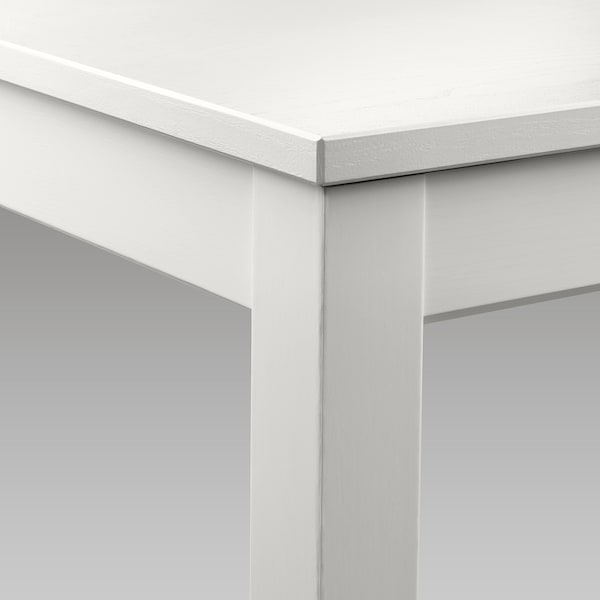 LANEBERG Ausziehtisch weiß 130 cm 190 cm 80 cm 75 cm 40 kg