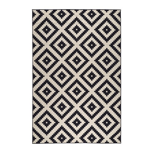 lappljung ruta teppich kurzflor 200x300 cm ikea. Black Bedroom Furniture Sets. Home Design Ideas