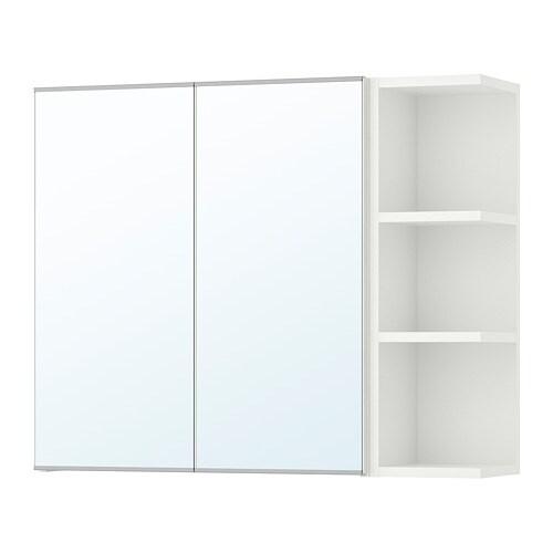 Lillangen Spiegelschrank 2 Turen 1abschlregal Weiss 79x21x64 Cm Ikea