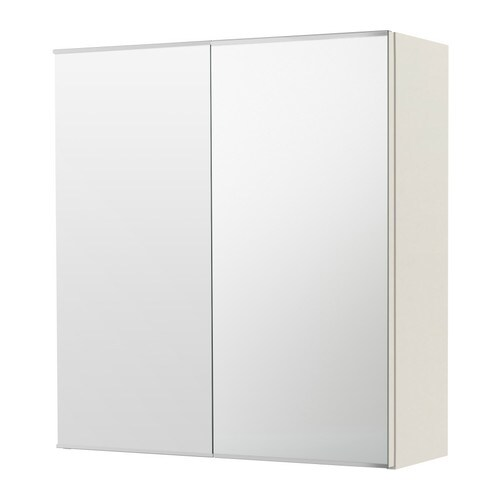 LILLÅNGEN Spiegelschrank 2 Türen - weiß - IKEA
