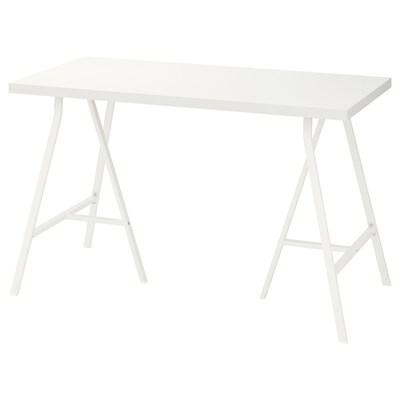 LINNMON / LERBERG Tisch weiß 120 cm 60 cm 74 cm 50 kg