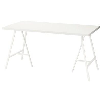 LINNMON / LERBERG Tisch weiß 150 cm 75 cm 74 cm 50 kg