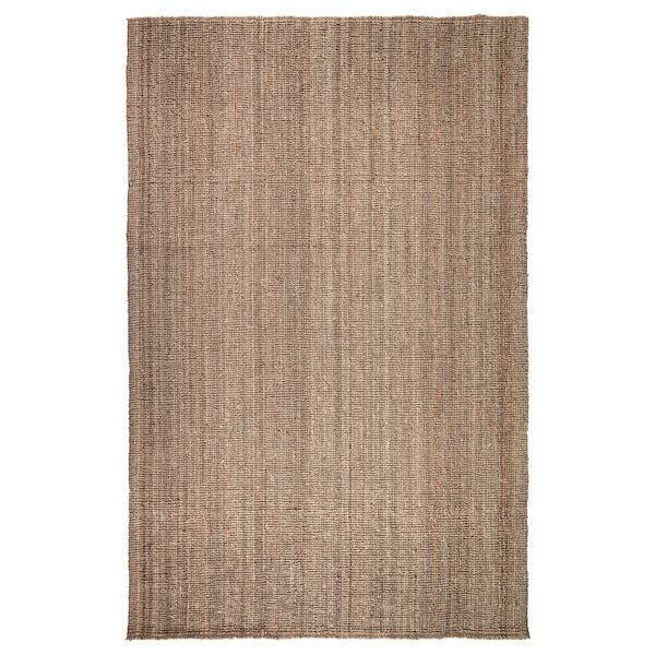 LOHALS Teppich flach gewebt natur 300 cm 200 cm 13 mm 6.00 m² 3200 g/m²