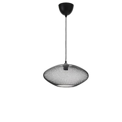 LUFTMASSA / HEMMA Hängeleuchte Ovale/schwarz 37 cm