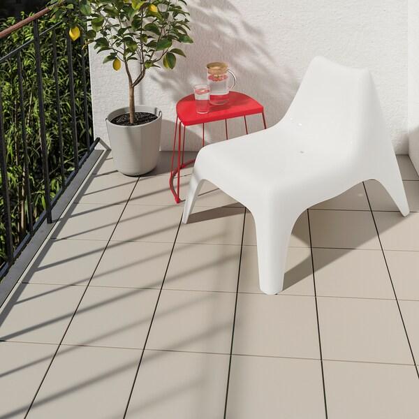 MÄLLSTEN Bodenrost/außen, grau, 0.81 m²