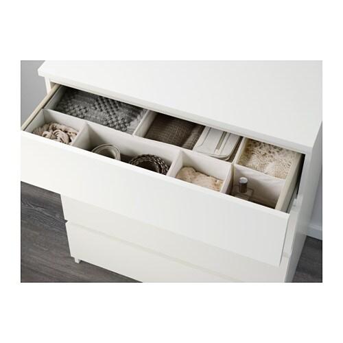 malm kommode mit 4 schubladen - weiß - ikea, Hause deko