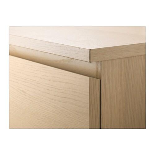 MALM Kommode Mit 2 Schubladen   Weiß   IKEA