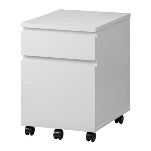 Ikea Wandregal Welche Schrauben ~ MALM Schubladenelement auf Rollen Dank der Rollen leicht beweglich und