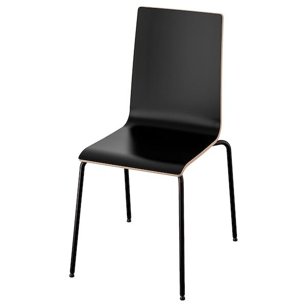 MARTIN Stuhl, schwarz/schwarz