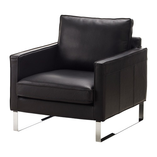 Mellby sessel ikea for Ledersessel schwarz design