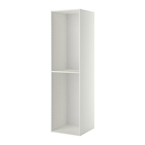 metod korpus hochschrank wei 60x60x220 cm ikea. Black Bedroom Furniture Sets. Home Design Ideas