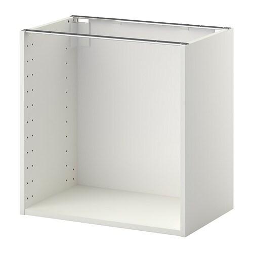 metod korpus unterschrank wei 60x37x60 cm ikea. Black Bedroom Furniture Sets. Home Design Ideas