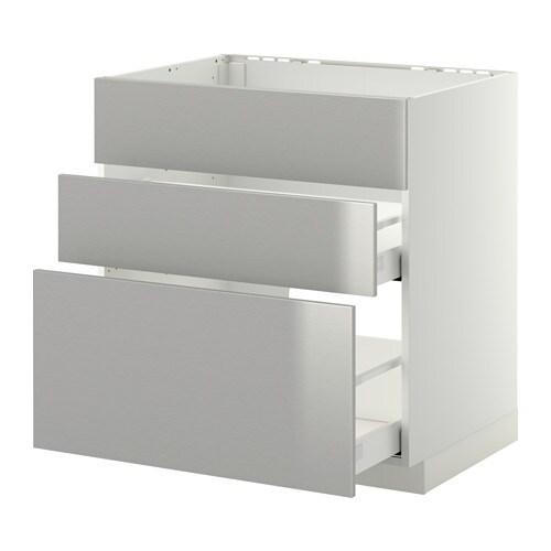 metod maximera unterschr f sp le 3 fronten 2sch grevsta edelstahl 80x60 cm ikea. Black Bedroom Furniture Sets. Home Design Ideas