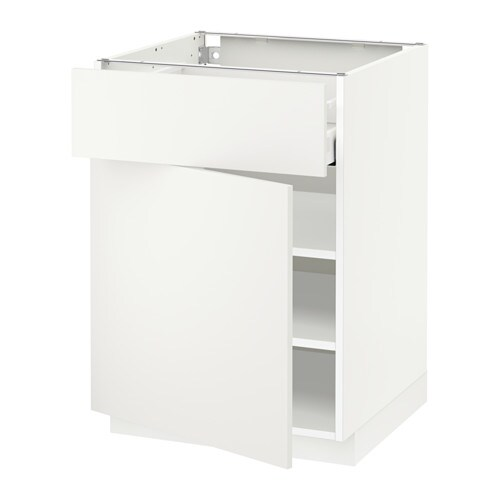 METOD / MAXIMERA Unterschrank mit Schublade/Tür - weiß ...