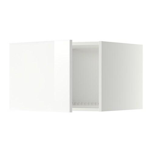 metod oberschrank f k hl gefrierschrank ringhult hochglanz wei 60x40 cm ikea. Black Bedroom Furniture Sets. Home Design Ideas