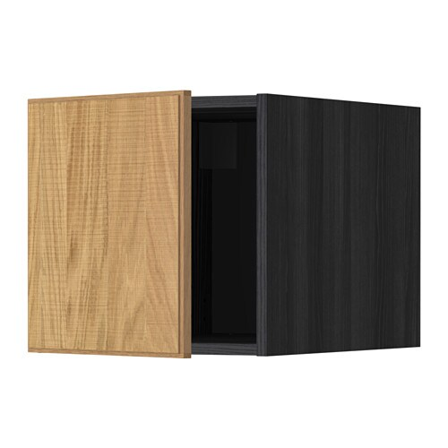 metod oberschrank holzeffekt schwarz hyttan. Black Bedroom Furniture Sets. Home Design Ideas