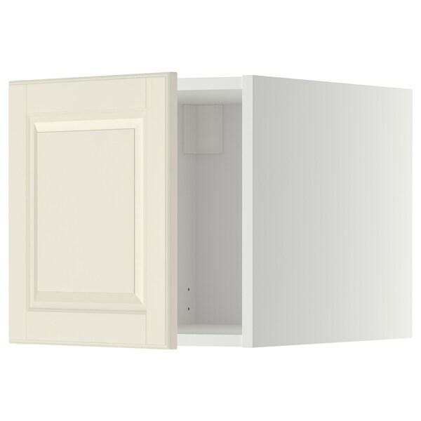 METOD Oberschrank, weiß/Bodbyn elfenbeinweiß, 40x40 cm