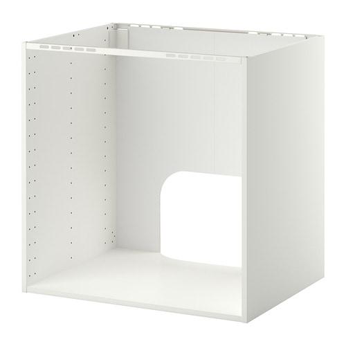 Ikea Toddler Bed Replacement Parts ~ METOD Unterschrank für Einbauofen Spüle  weiß, 80x60x80 cm  IKEA