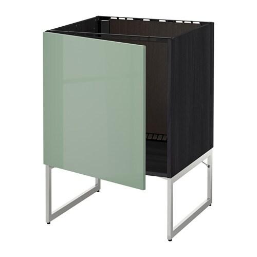 metod unterschrank f r sp le holzeffekt schwarz kallarp. Black Bedroom Furniture Sets. Home Design Ideas