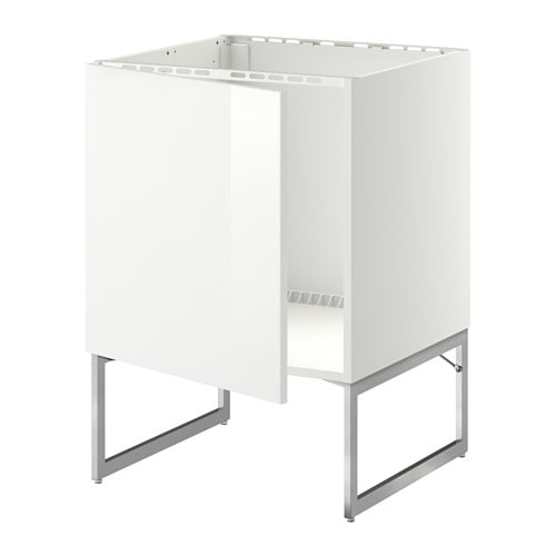 METOD Unterschrank für Spüle - Ringhult Hochglanz weiß - IKEA