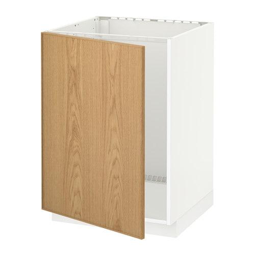 metod unterschrank f r sp le ekestad eiche ikea. Black Bedroom Furniture Sets. Home Design Ideas