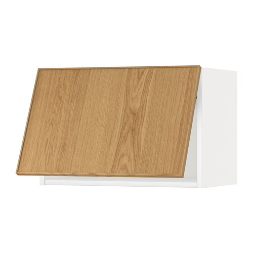 Metod wandschrank horizontal ekestad eiche 60x40 cm ikea - Metod wandschrank ...