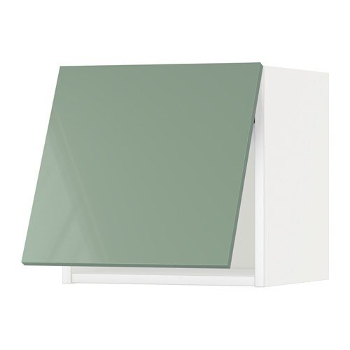 metod wandschrank horizontal kallarp hochglanz hellgr n. Black Bedroom Furniture Sets. Home Design Ideas
