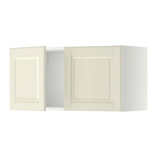 METOD Wandschrank mit 2 Türen - Bodbyn elfenbeinweiß - IKEA