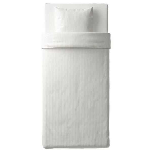NATTJASMIN Bettwäscheset, 2-teilig, weiß, 150x200/50x60 cm