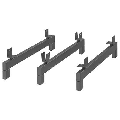 NOCKEBY Beine für 3er-Sofa  Holz 15 cm 3 Stück