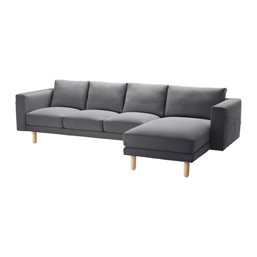 norsborg 3er sofa und r camiere finnsta dunkelgrau birke ikea. Black Bedroom Furniture Sets. Home Design Ideas