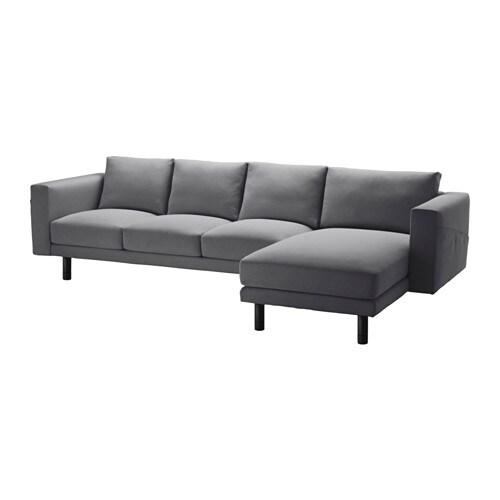norsborg 3er sofa und r camiere finnsta dunkelgrau grau. Black Bedroom Furniture Sets. Home Design Ideas