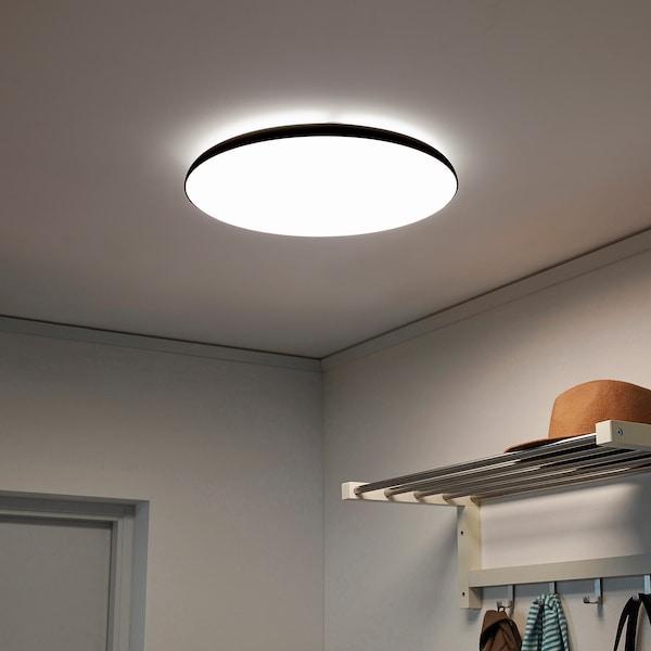 NYMÅNE Deckenleuchte, LED, anthrazit