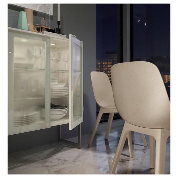 ODGER Stuhl Weiß Beige IKEA