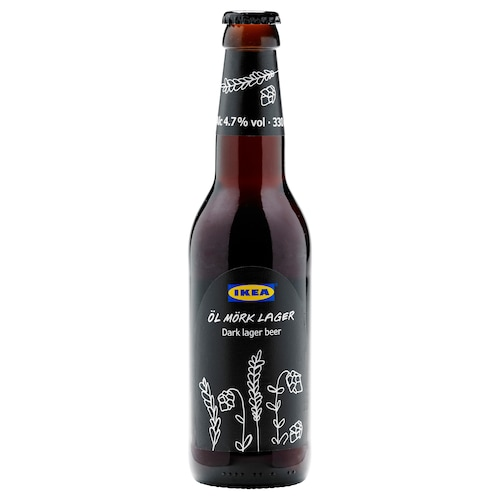 IKEA ÖL MÖRK LAGER Bier dunkel 4,7% vol.