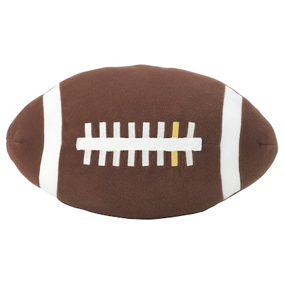 ÖNSKAD Stoffspielzeug, American Football/braun