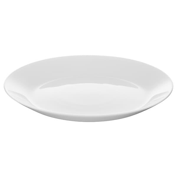 OFTAST Dessertteller weiß 19 cm