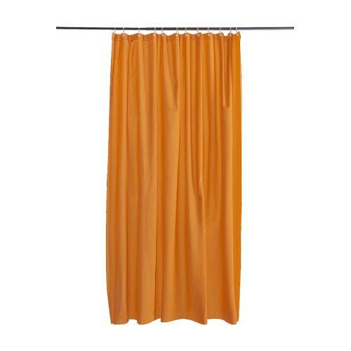 oleby duschvorhang orange ikea. Black Bedroom Furniture Sets. Home Design Ideas