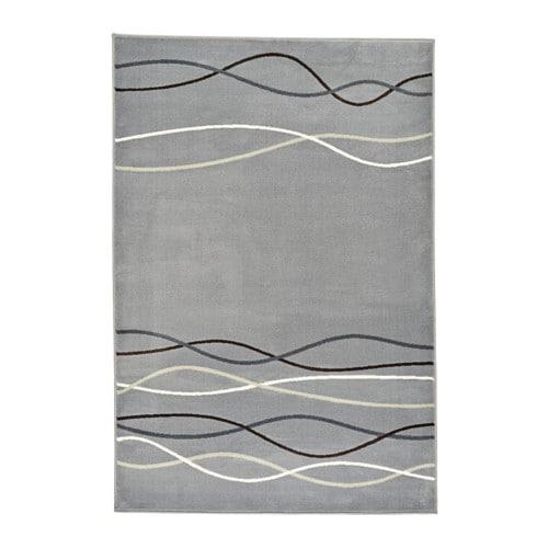 Ikea Gaser Teppich Grau ~ ÖLHOLM Teppich Kurzflor Der dichte Flor wirkt geräuschdämpfend und