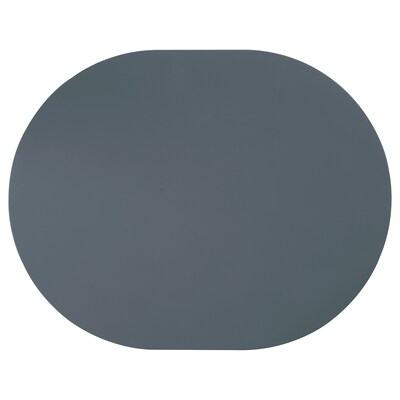 OMTÄNKSAM Tischset, rutschfest, blaugrau, 45x35 cm
